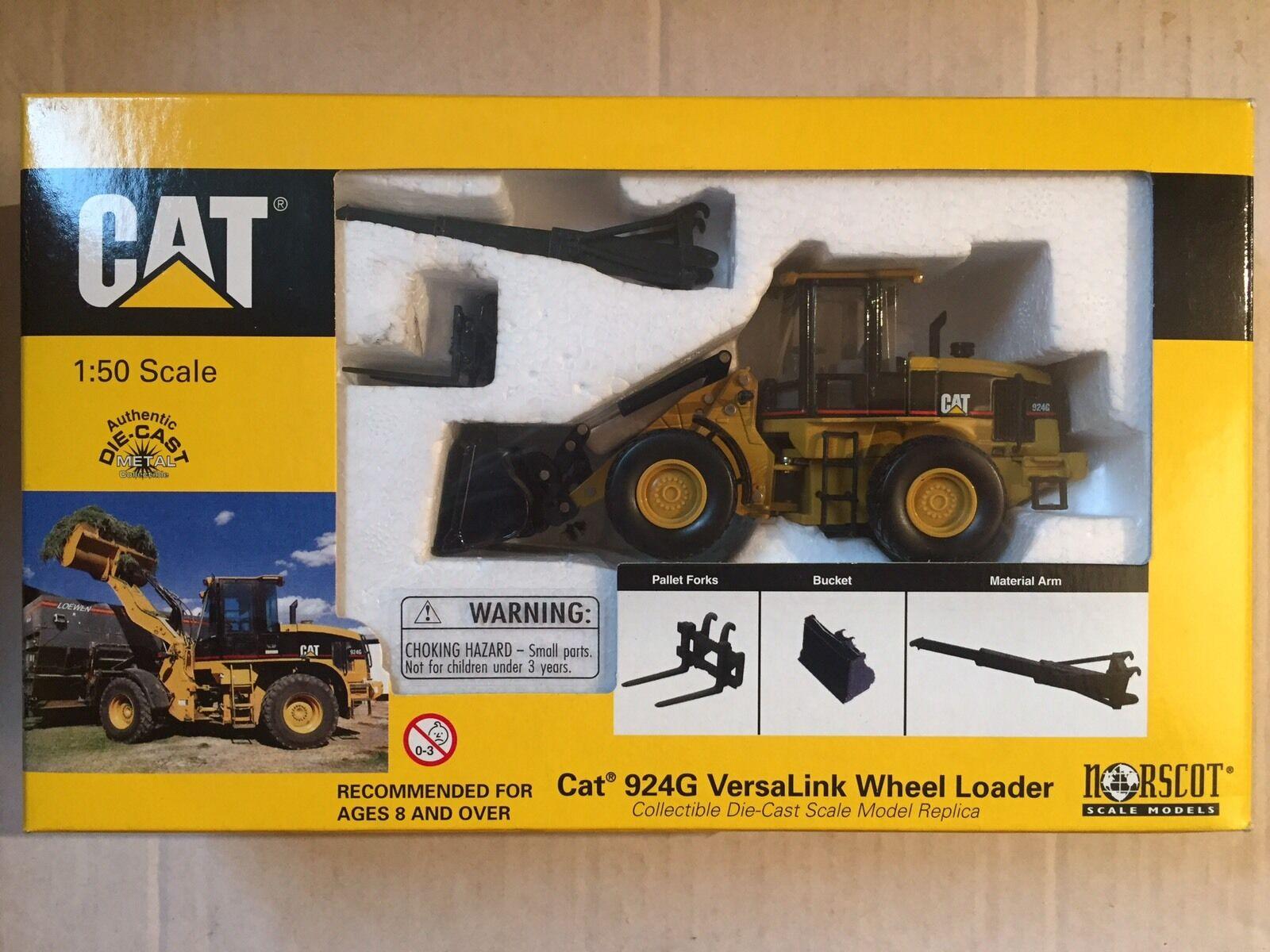 CAT 924D VERSALINK WHEEL LOADER NORSCOT 1 50 NEW