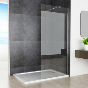 walk in dusche duschwand duschtrennwand duschabtrennung 6mm 10mm nano esg glas. Black Bedroom Furniture Sets. Home Design Ideas
