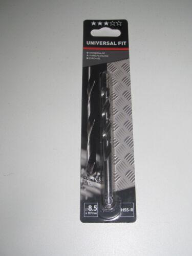 Foret pour Perceuse Universal Fit Metal Acier HSS-R Taille au Choix