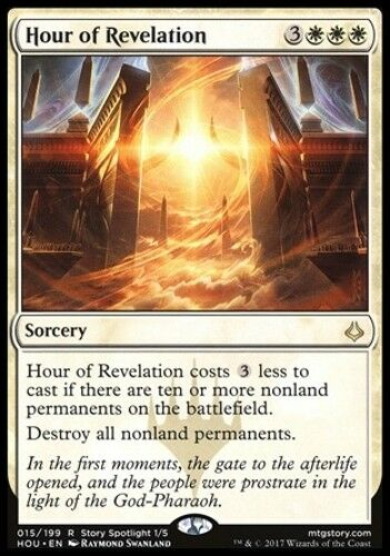 MTG Hour of Revelation English, Hour of Devastation, Free P/&P