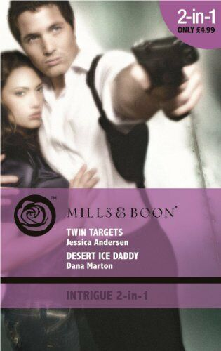 (Very Good)0263882314 Twin Targets/Desert Ice Daddy (Mills & Boon Intrigue),Jess