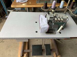 PEGASUS E32-430, INDUSTRIAL OVERLOCK SEWING MACHINE