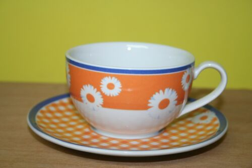 Rosenthal CASUAL Pleasures Saint Tropez Kaffeetasse mit Untere Orange Cup