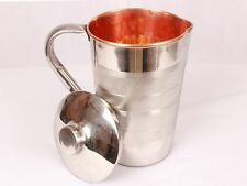 Copper and steel Jug Pitcher water Storage -1.5 Ltrs (Approx) - Cheapest Offer !