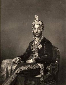 Maharajah-Duleep-Singh-Sikh-Empire-1860s-India-by-DJ-Pound-6x5-Inch-Print
