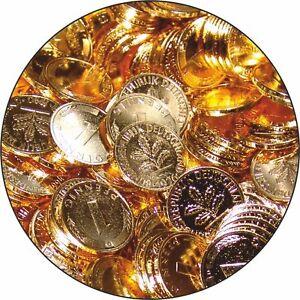 1-Pfennig-1986-vergoldet-Glueckspfennig-Goldpfennig-Geburtstagspfennig