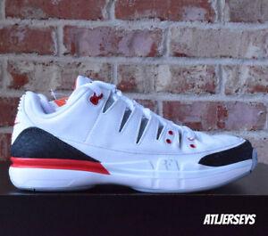 5fe20a27fee Nike Zoom Vapor RF X AJ3 White Fire Red Roger Federer Jordan 709998 ...