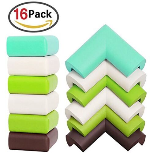 16 X Child Baby Safe Guard Protector Table Corner Edge Protection Cover UK