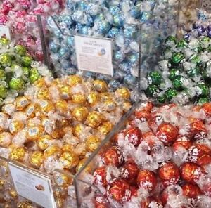 Image Is Loading NEW 50 X LINDT LINDOR ASSORTED CHOCOLATE TRUFFLES