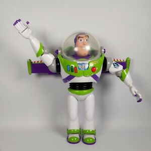 Disney Store - Toy story pixar Talking Buzz Lightyear action figure- All Working