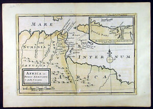 1764-Moll-Bowles-Antique-Map-of-Carthage-and-North-Africa-Julius-Caeser