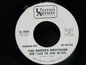 THE-RHODES-BROTHERS-Don-039-t-close-the-door-on-mlove-wings-like-a-dove-UA-50060