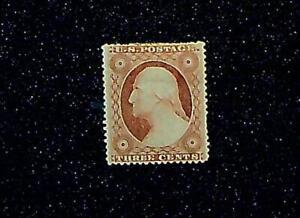 Scott# 26 - 1857 3c Washington Issue Type III MH