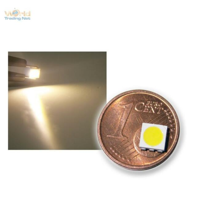 50 Stück SMD LED 5050 3-Chip warmweiß HIGHPOWER - warm-weiße SMDs LEDs white SMT