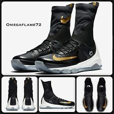 Nike KD 8 Elite Black & Gold 834185-071 Size Uk 10.5, EUR 45.5, USA 11.5