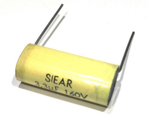 Condensateur plastique 3U3 3.3µF 3.3M 335 160V                          CX1603U3