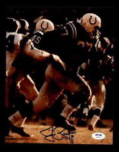 Jim-Parker-HOF-73-PSA-DNA-Coa-Hand-Signed-8x10-Autograph-Photo