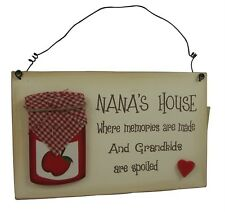 Decorative indoor house signs
