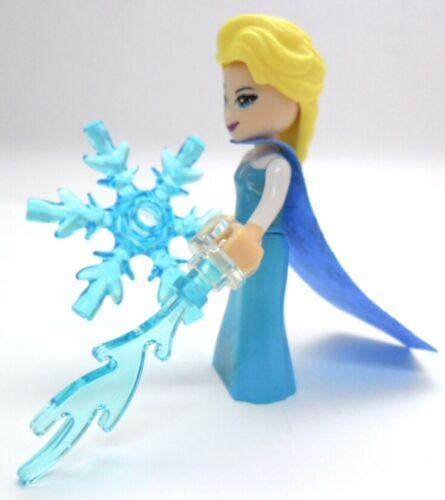 LEGO Disney Prinzessin Elsa mit Eisflamme und Eiskristall dp050 41155