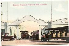 Universal City CA Laemmie Boulevard Early Making of Motion Pictures Postcard