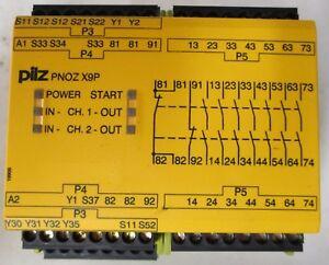 Pilz PNOZ X9P 24VDC 7n//o 2n//c 2so