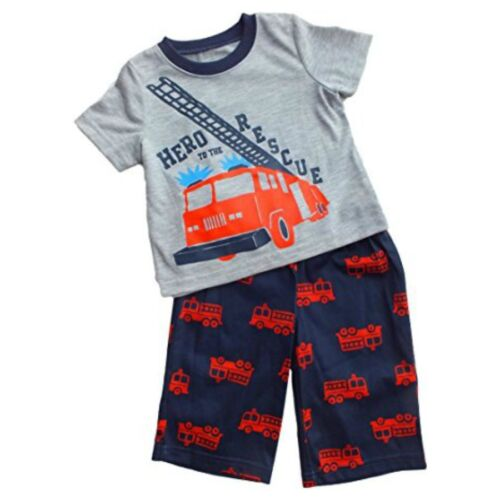 New Carter/'s Boy/'s Toddler Pajama Set 18M 24M or 2T Fireman Hero to the Rescue