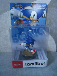 Amiibo Super Smash Bros Sonic The Hedgehog No 26 Neu Ovp Ebay