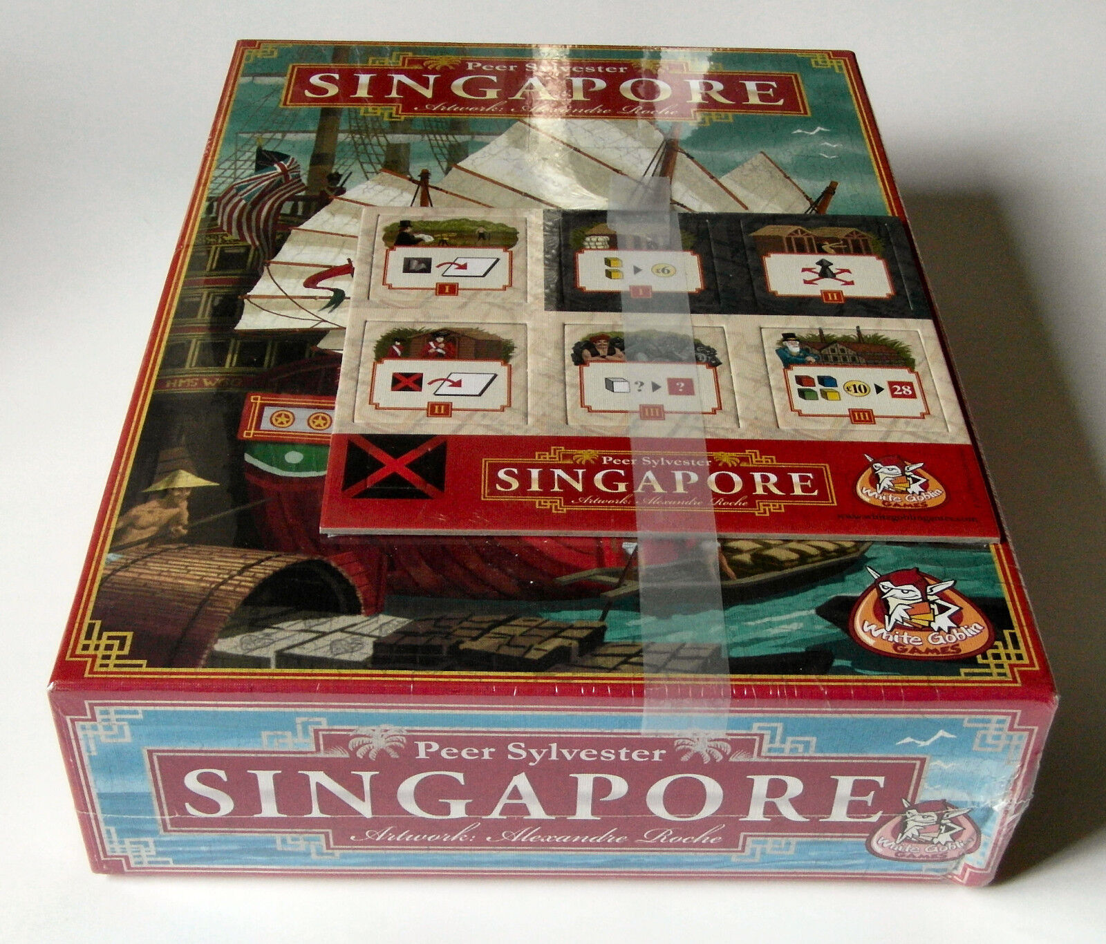 Singapore + Bonus Tiles - White Goblin Games - 2011