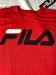 Red-Fila-Large-T-Shirt