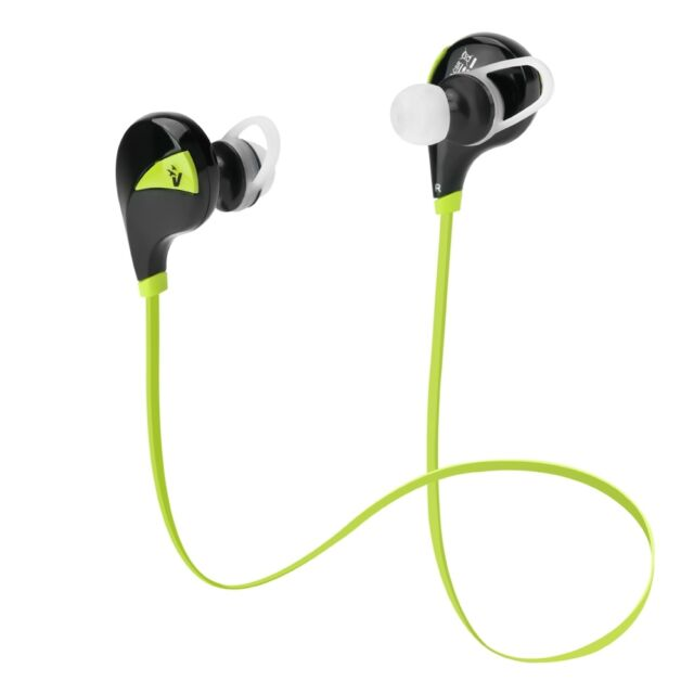AURICOLARI CUFFIE WIRELESS SPORT RUNNING BLUETOOTH V4.0 IN-EAR CON MICROFONO