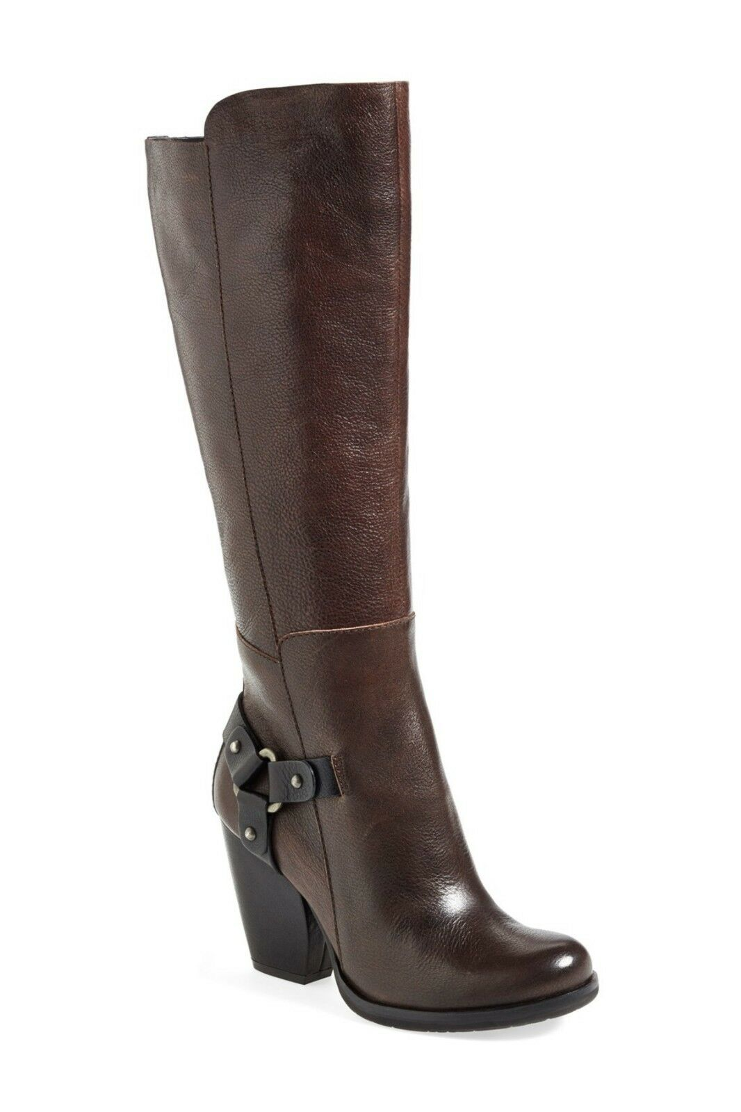 NEW Kork-Ease 'Olson' Harness Tall Boot, Brown Leather, Women Size 6,  299