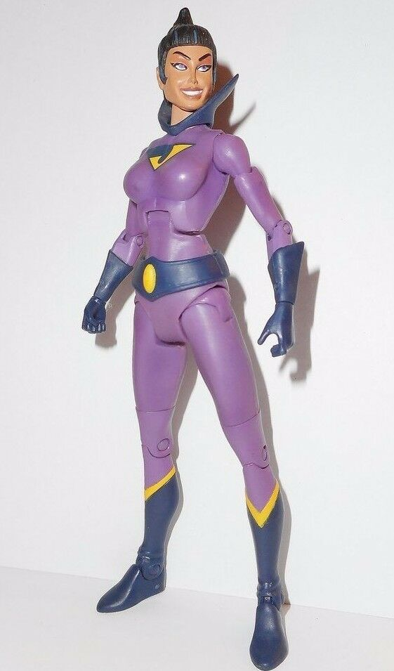 DC UNIVERSE classics 6  WONDER TWINS JAYNA sdcc comic con exclusive complete