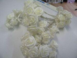 12 Roses Grand Format Mariage Communion Bapteme Ceremonie Ivoire T51ref37 Fixation Des Prix En Fonction De La Qualité Des Produits