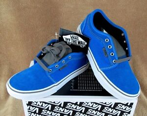 14e9ac02bf Image is loading NEW-VANS-CHUKKA-LOW-SKATE-SHOE-BRIGHT-BLUE-