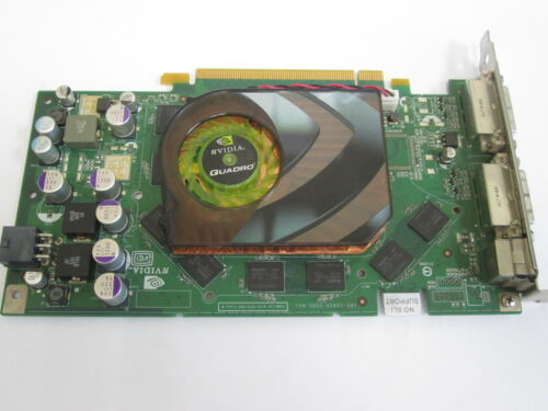 nVidia QuadroFX 3450 Dell CN-0T9099 900-50455-0151-000-K DUAL DVI GRAPHICS CARD