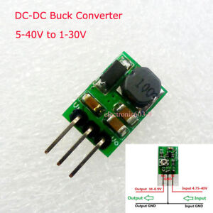 5W DC-DC Buck Converter Step-down 5V-36V to 5 12V Power Module Replace 7805 7812