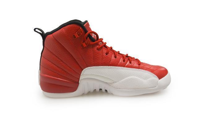 newest b0e09 0f66a Juniors Nike Air Jordan 12 Retro BG - 153265-600 - Gym Red White Black