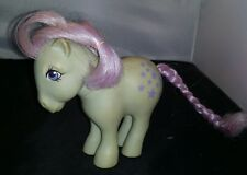 Vintage G1 My Little Pony Blue Belle Earth Pony Toy Figure 1982 mlp hasbro