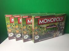 ONE Monopoly Teenage Mutant Ninja Turtles TMNT Board Game Retro Old School NEW