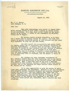 CHRISTY-WALSH-1941-TLS-letter-about-GEHRIG-during-screenplay-PRIDE-OF-YANKEES
