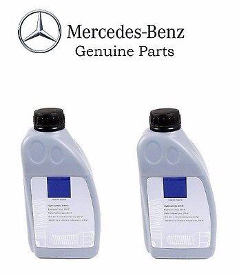 2 Mercedes W123 W126 R129 W140 W208 300D 380SE Febi Hydraulic Fluid 000989910310
