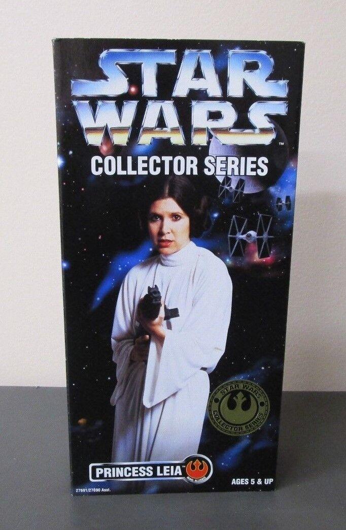 Princess Leia 1996 STAR WARS Collector Series 12  1 6 Scale MIB