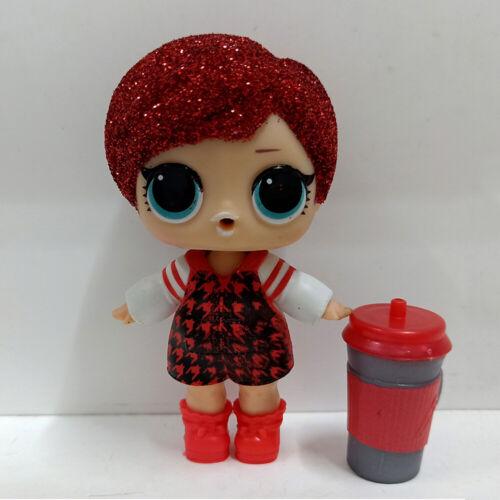 lol doll Big Sister Glitter Red Hair DIY Hot Red Dress Kids Birthday Gift
