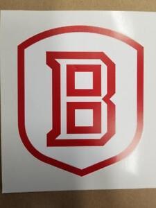 Bradley Braves Cornhole board or vehicle window decal(s)BB1