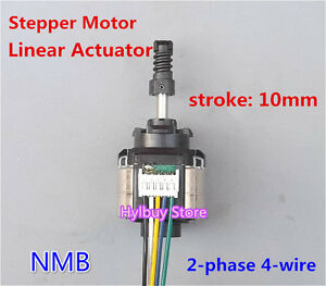 nmb linear actuator 2 phase 4 wire stepper motor dc 5v 12v
