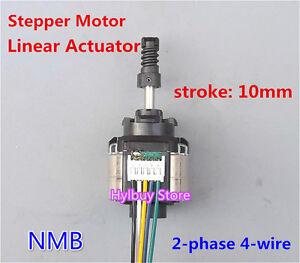 Nmb linear actuator 2 phase 4 wire stepper motor 5v 9v 6v for 24 volt servo motor