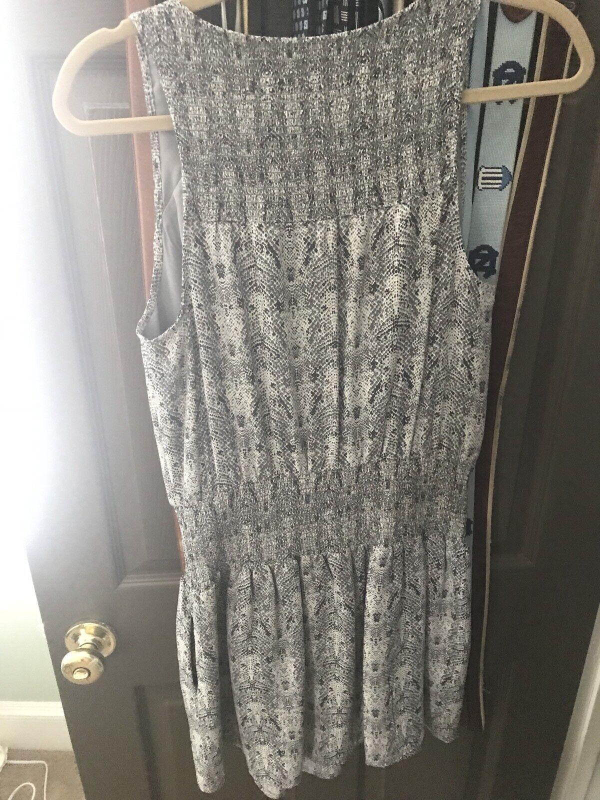 Joie Joie Joie Silk Snake Print Dress S 350bc2