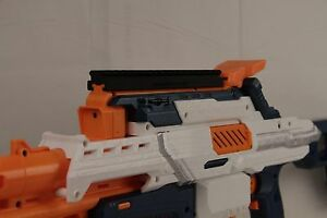 Image is loading 3D-Printed-Nerf-to-Picatinny-Top-Rail-Mount-