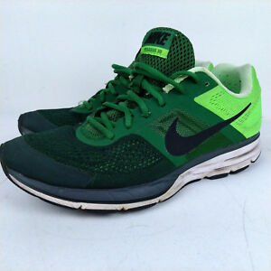 4bb82b1d246d Nike Air Zoom Pegasus 30 Running Shoes Sz 12 Fortress Green   Lime ...