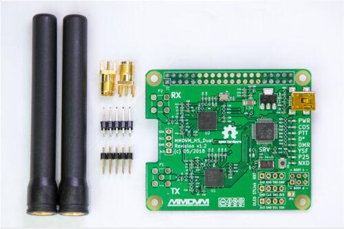 MMDVM/_HS/_Dual/_Hat Duplex MMDVM Hotspot P25 DMR YSF NXDN Pi Revision 1.3 OLED